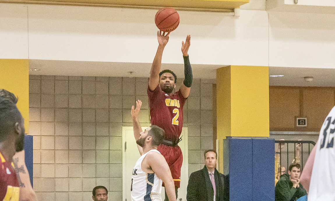 Pride Men's Hoop Falls to Saints on Road