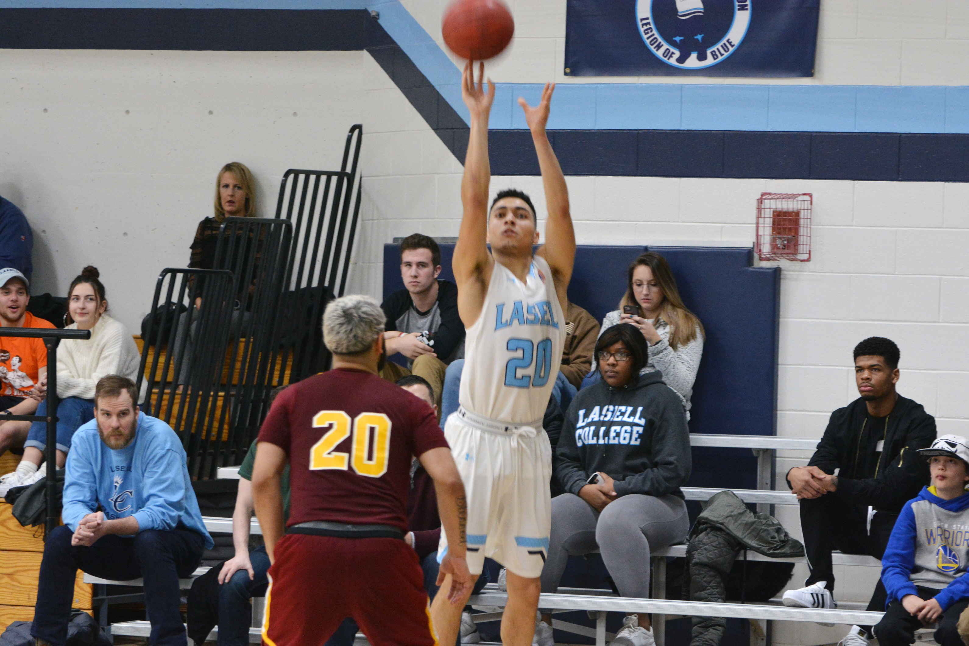 First-half run lifts Lasell Men's Basketball past Emmanuel