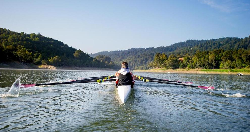 Men's Rowing Rounds out Regular Season at Western Sprints