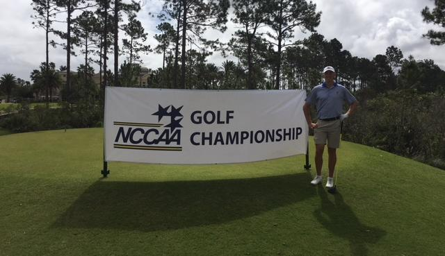 Erik Sundstrom Competes at NCCAA National Championship