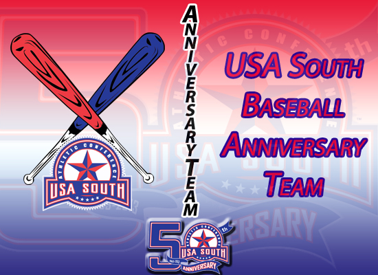 USA South Announces 50th Anniversary Baseball Team