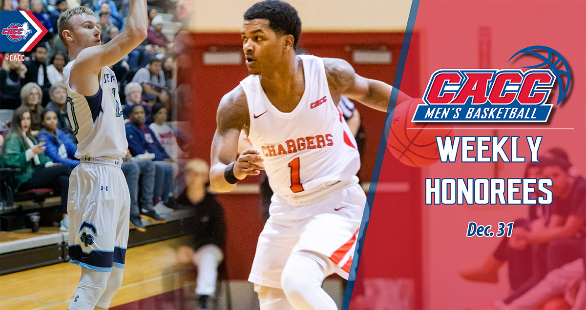 CACC Men's Basketball Weekly Honorees (Dec. 31)