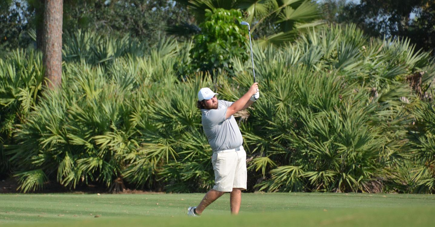 Men's Golf in Contention at Guy Harvey