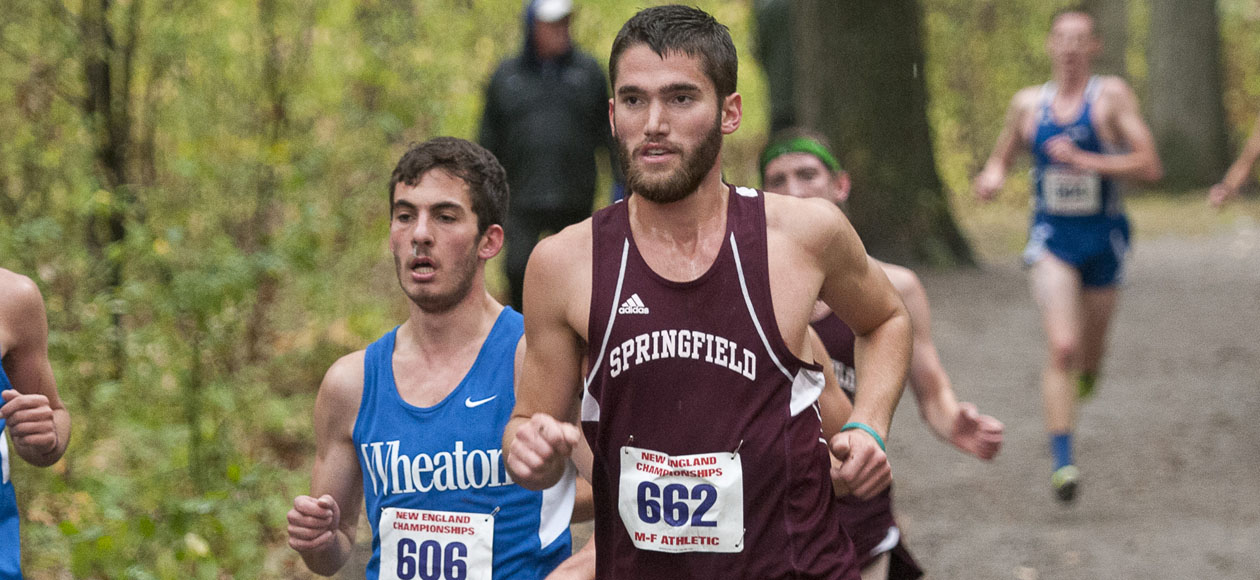 Men's Cross Country Runs at New England Championships