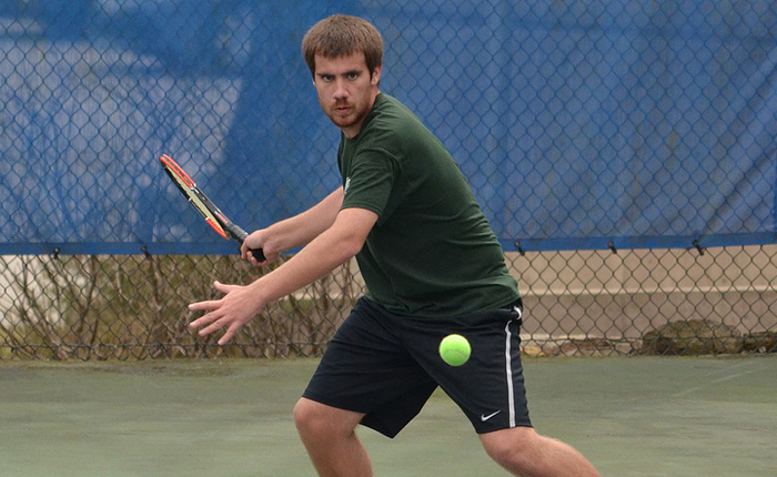 Men's Tennis Sweeps All Doubles Matches in 7-2 Win Over Eastern