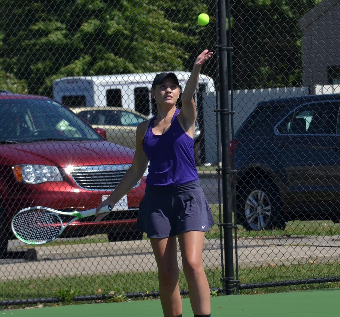 Women's Tennis Drops First Conference Match