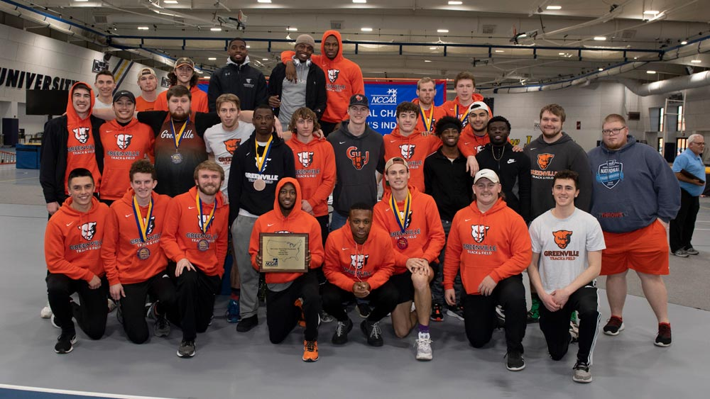 Men's track and field places fourth in NCCAA's