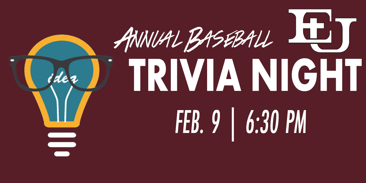Evangel Baseball Hosts Annual Trivia Night