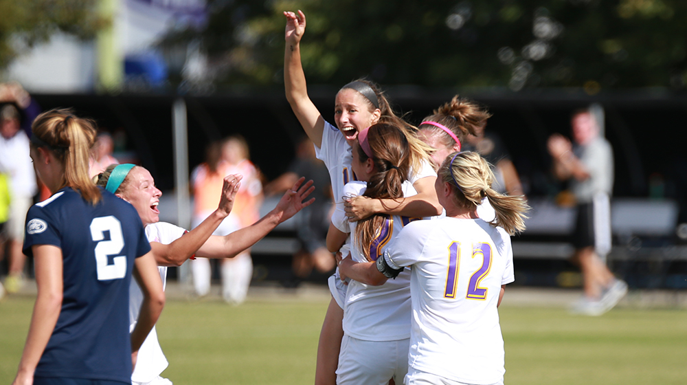 Tech soccer moves to OVC Tournament semifinals behind 3-0 win over Belmont