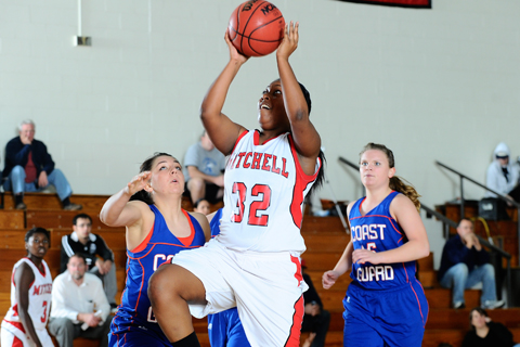 Newbury Holds Off Mitchell WBB
