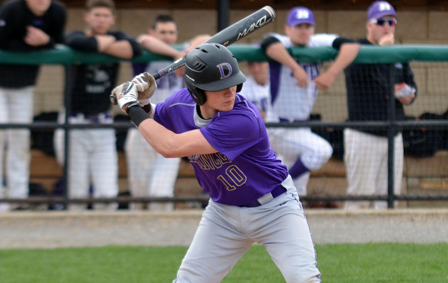 Baseball Clinches Series With Win Against Bluffton