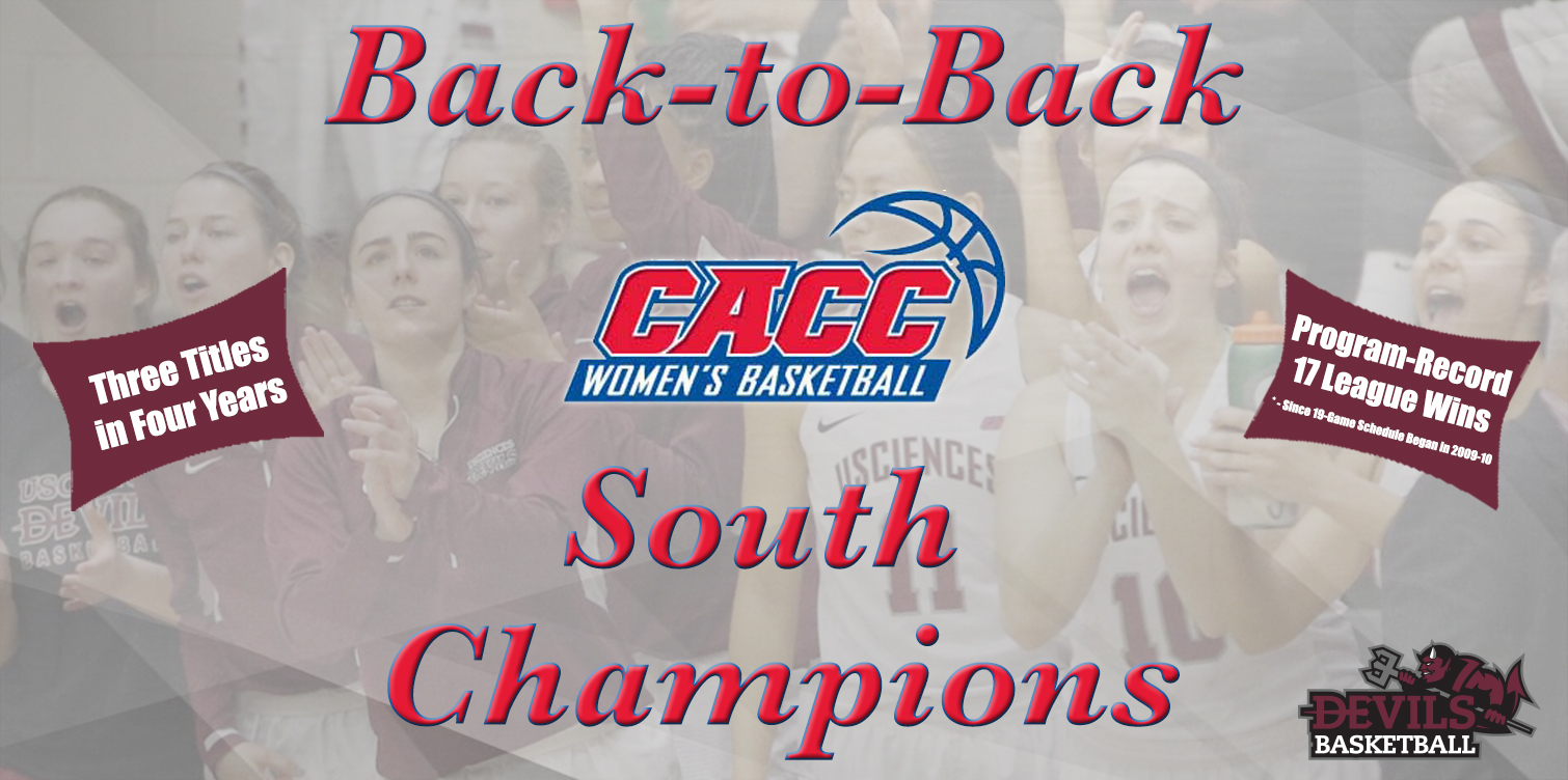 No. 12 Women's Basketball Clinches Third CACC South Title in Four Years with Win at Nyack