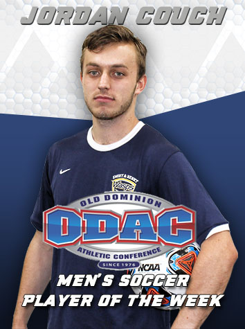 Emory & Henry's Jordan Couch Named ODAC Men's Soccer Player Of The Week
