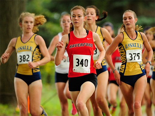 Women's cross country places 13th at Princeton Invitational