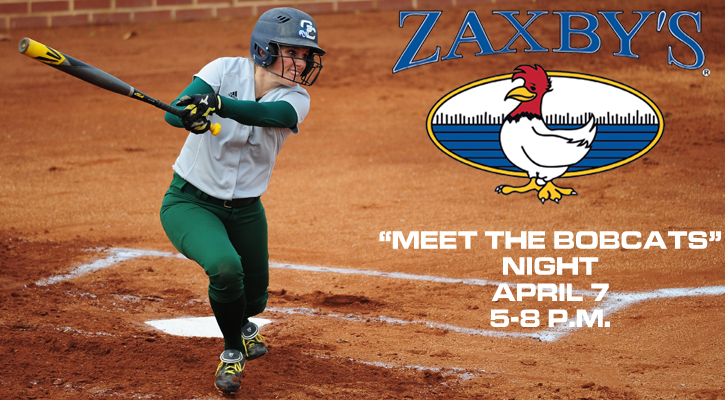 "GC Softball to Host ""Meet the Bobcats"" Night April 7"