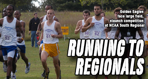 Golden Eagles will run alongside South's best at NCAA Regional