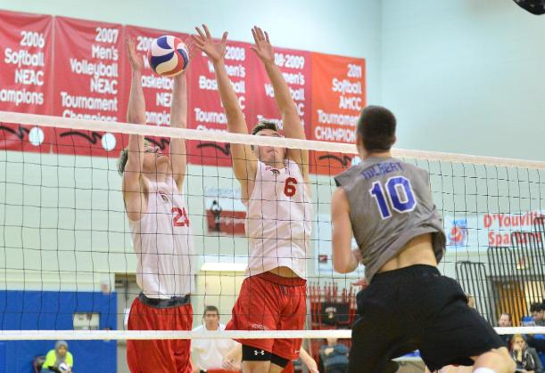 Hilbert Spoils D'Youville's Home Opener