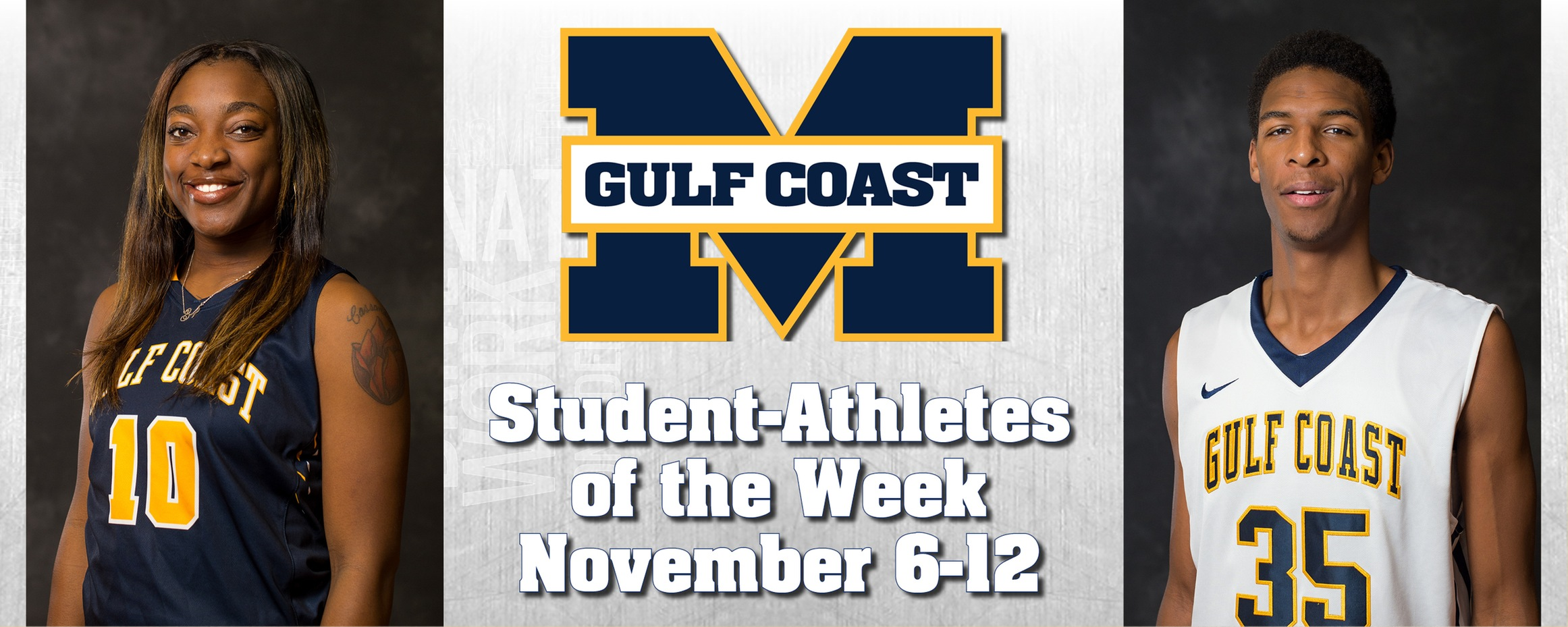 Sims, Moorer named MGCCC Student-Athletes of the Week
