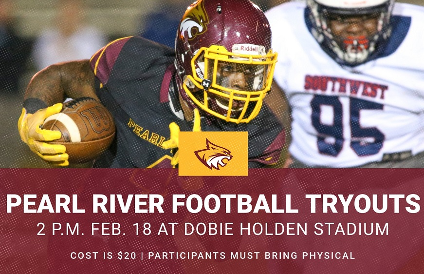 Pearl River football announces date for tryouts
