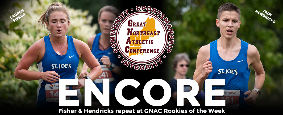 Fisher & Hendricks Earn GNAC Weekly Honors