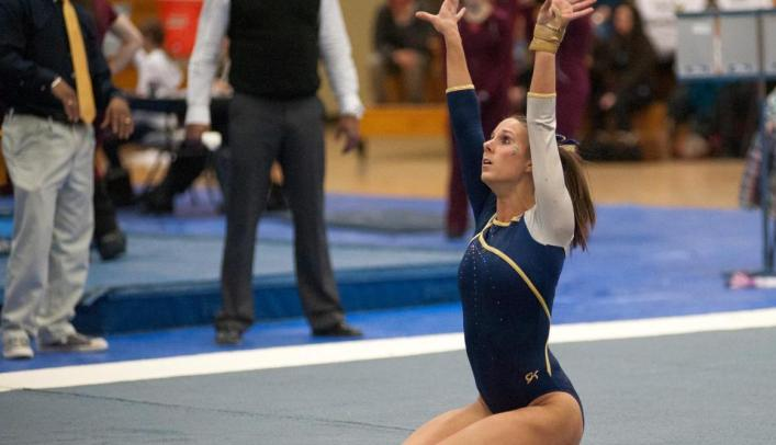 Gymnastics Team Opens Season at Division I Central Michigan
