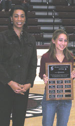 Bronco Distance Runner Honored For Service