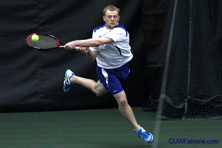 Men's Tennis drops third straight dual