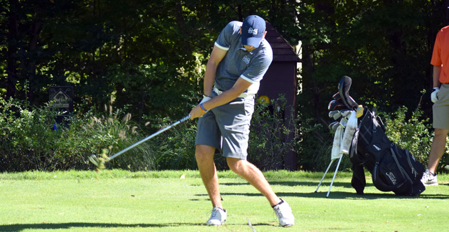 Golfers in 1st Place after Opening Round of Empire 8 Championships