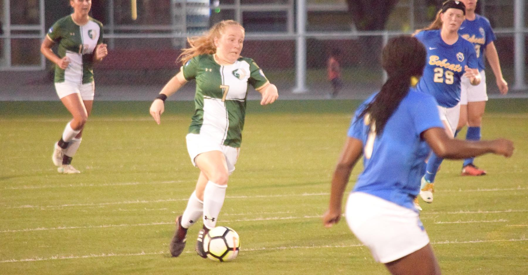 Bison edged out by Pitt.-Greensburg in opener, 2-1