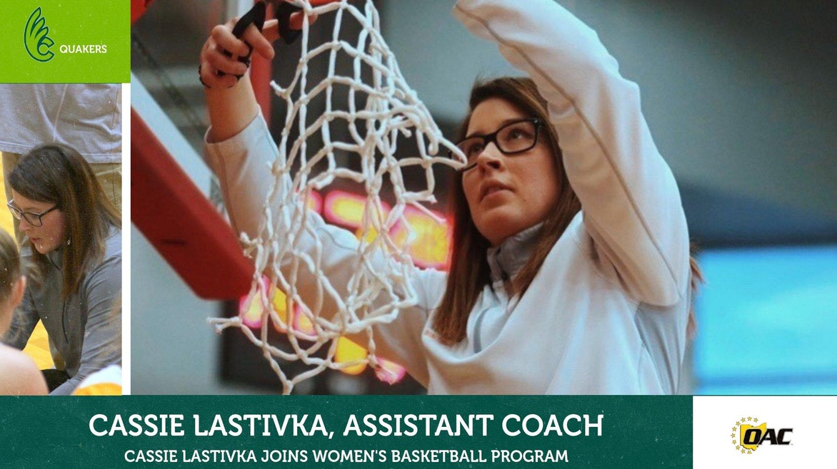 Cassie Lastivka Named Women's Basketball Assistant Coach