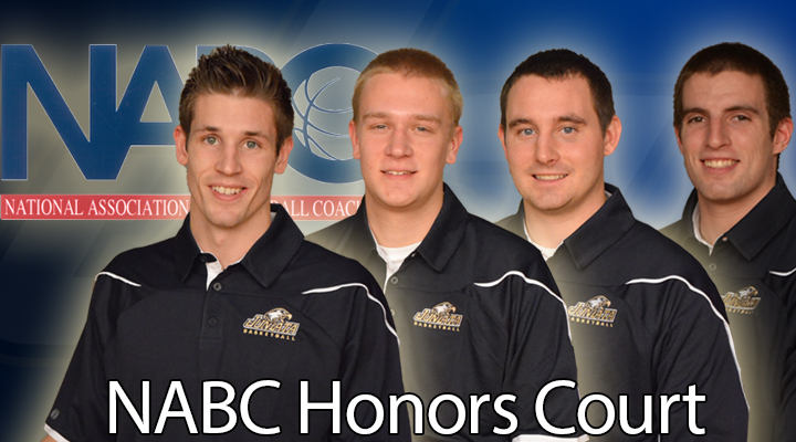 Four Eagles Named to NABC 2013-14 Honors Court