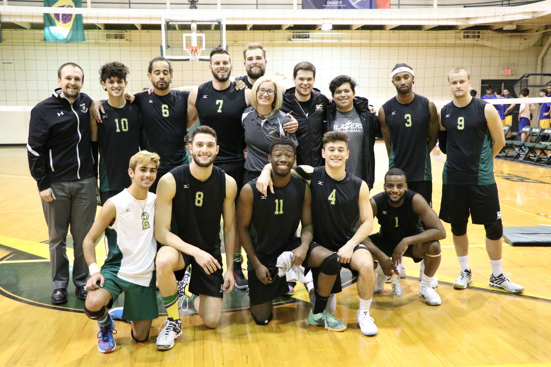 Men's Volleyball Battles Endicott In NECC Title Game Loss