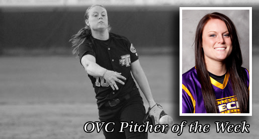 Thomas earns first career OVC Pitcher of the Week nod