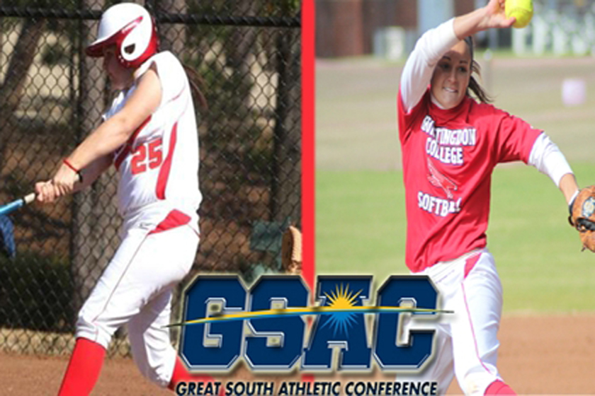 Huntingdon Sweeps First Softball Player of the Week Awards