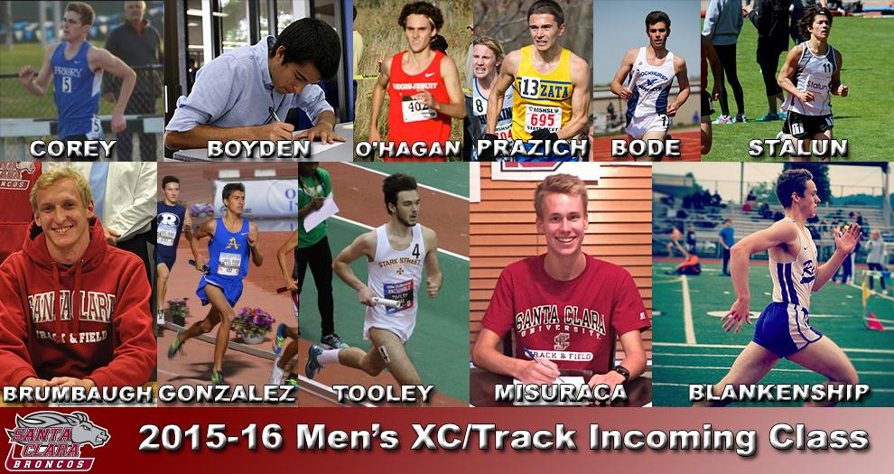 Cross Country/Track Announces 2015-16 Men's Recruiting Class