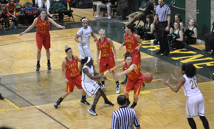 Ferris State Takes 18th-Ranked Warriors To Wire In Road Setback