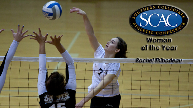 Southwestern's Thibodeau Selected SCAC Woman of the Year