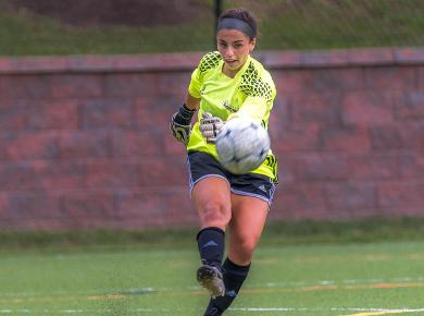 Dumain's Second Straight Shutout Leads STAC to 3-0 Win over Concordia