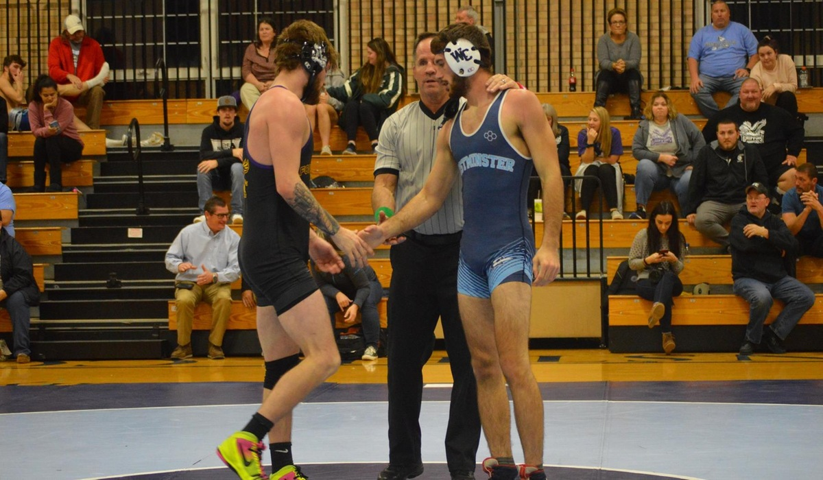 Westminster Wrestling Takes Down Fontbonne at Home
