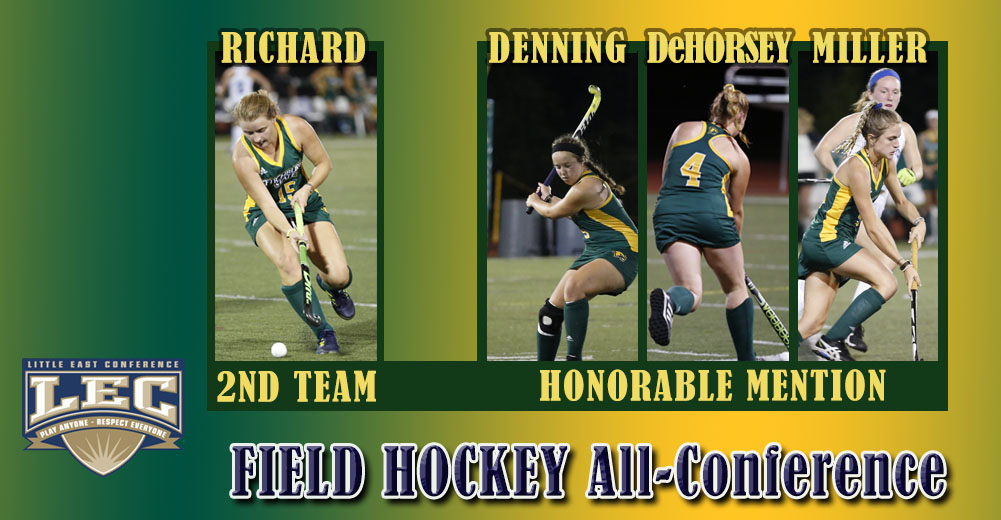 Four Falcons Earn LEC All-Conference Honors