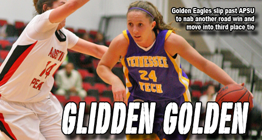 Glidden helps Golden Eagles to come-from-behind road win at APSU
