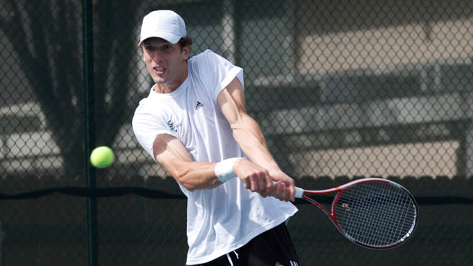 MEN'S TENNIS DOWNED BY SAN FRANCISCO, 6-1