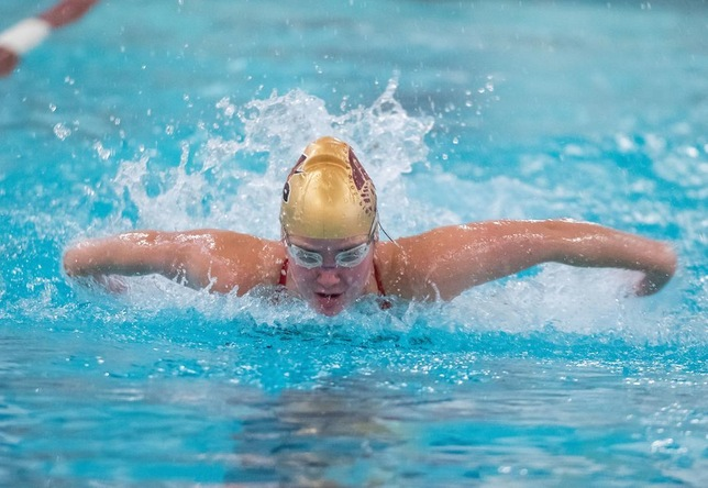 Swimming & Diving: Cadets Sweep Blazers in 2019 Opener