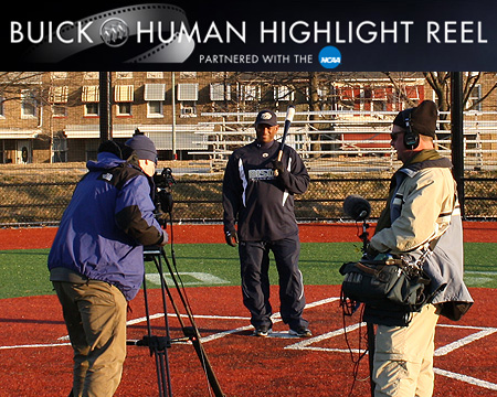 Gallaudet coach Curtis Pride and the Bison baseball program to be featured on CBS this Saturday