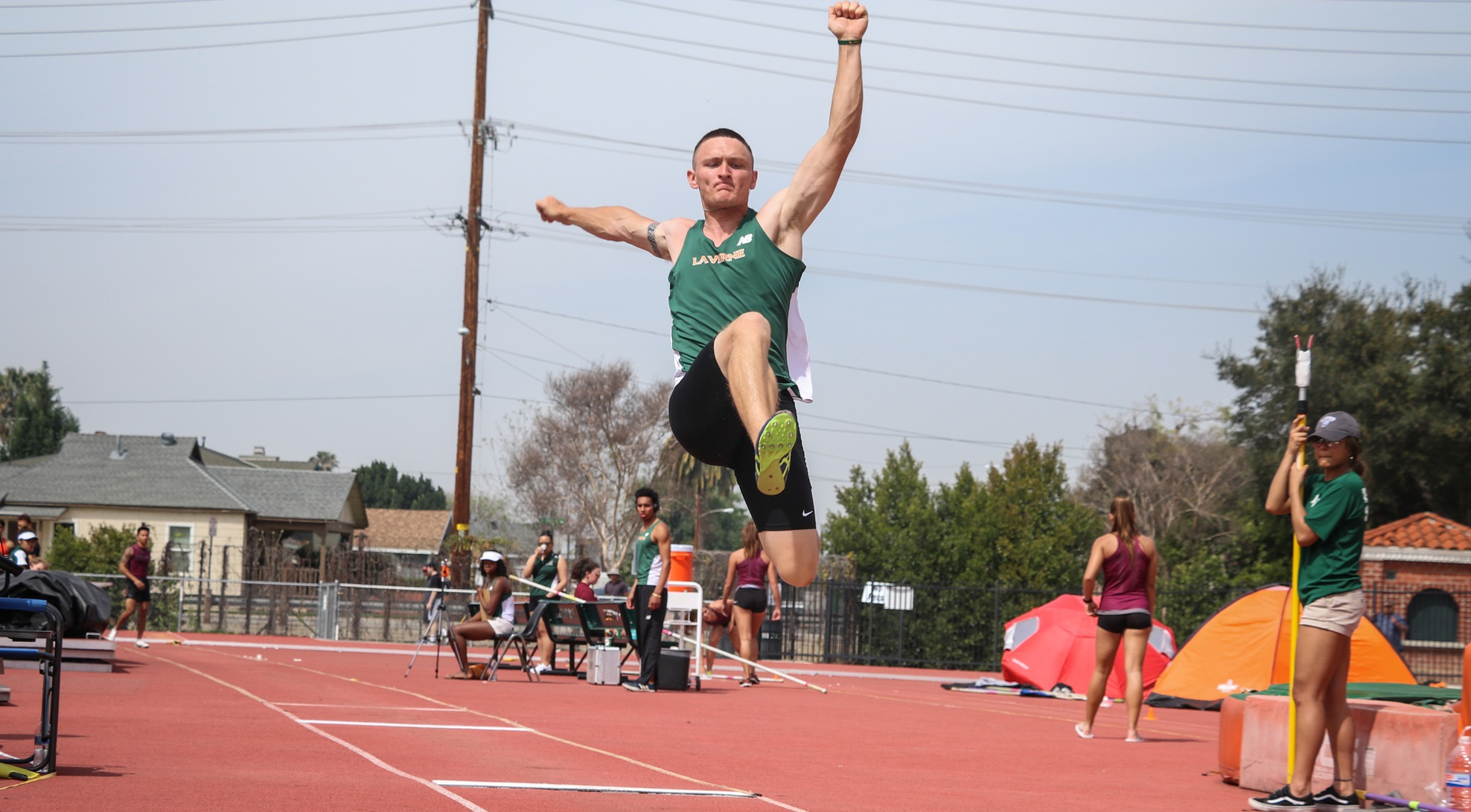 Track and Field opens SCIAC competition