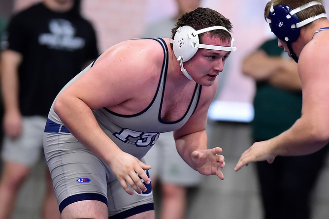 Wrestling Competes at W&J Invite; Three Wrestlers Place