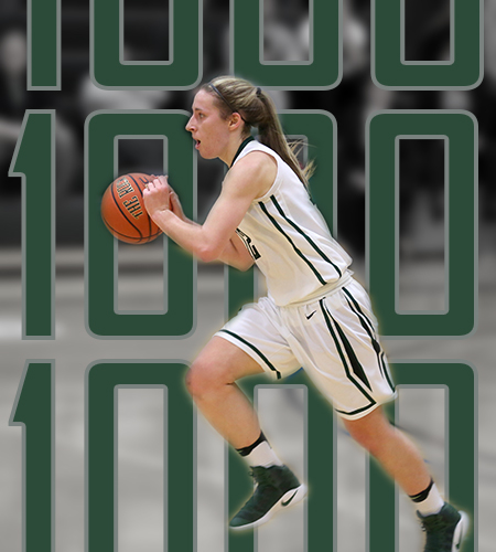Sage women advance to Semifinals; Schoff Joins 1000 Point Club!