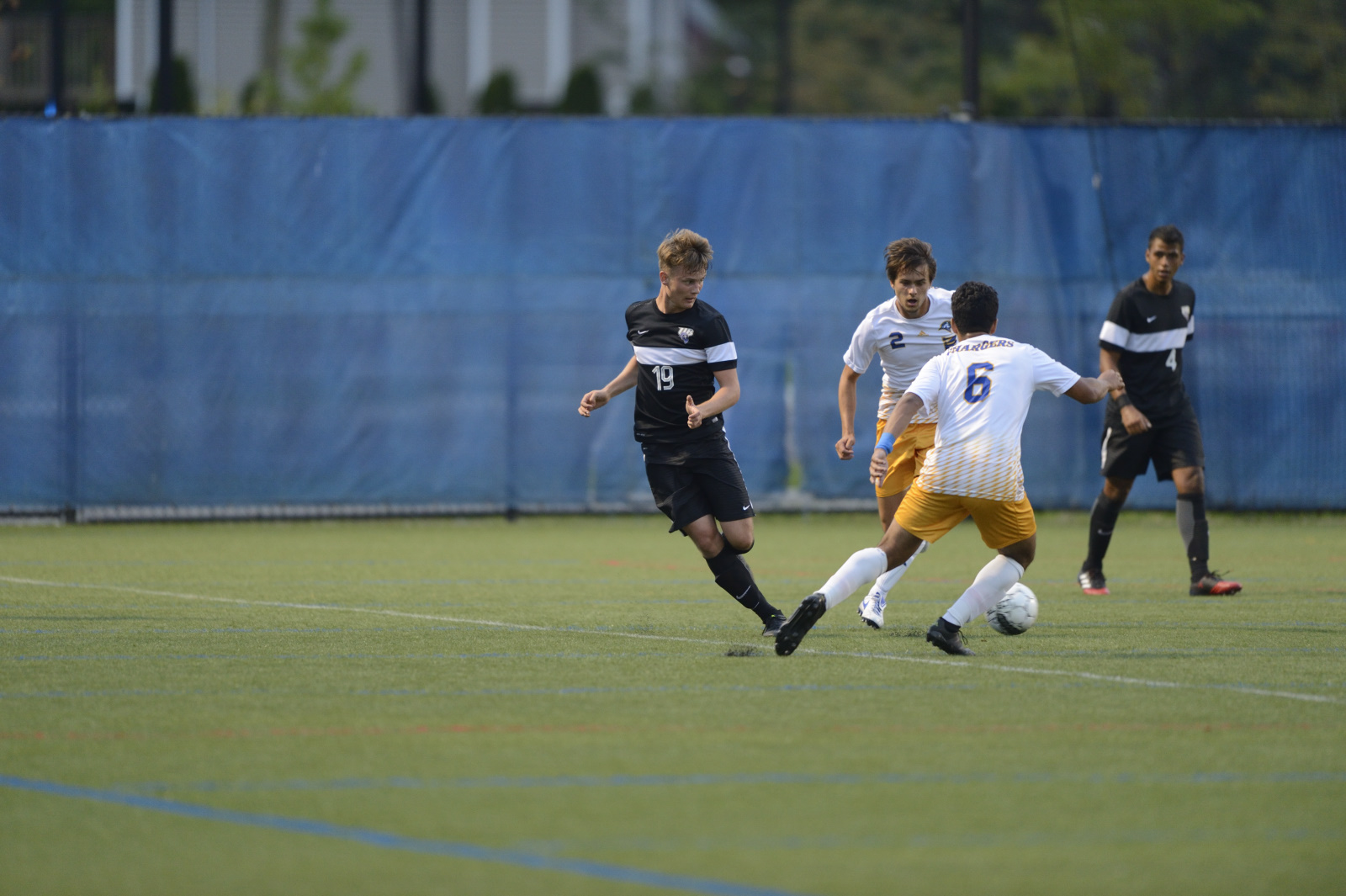 Purple Knights Fall To Southern Connecticut State In UB Men's Soccer Classic Tilt