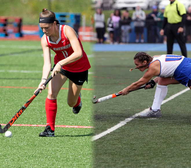 Bilow, Ackerman earn Field Hockey Athlete of the Week honors