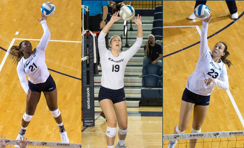 Emory Volleyball Well Represented On All-UAA Team -- Saunders Named MVP